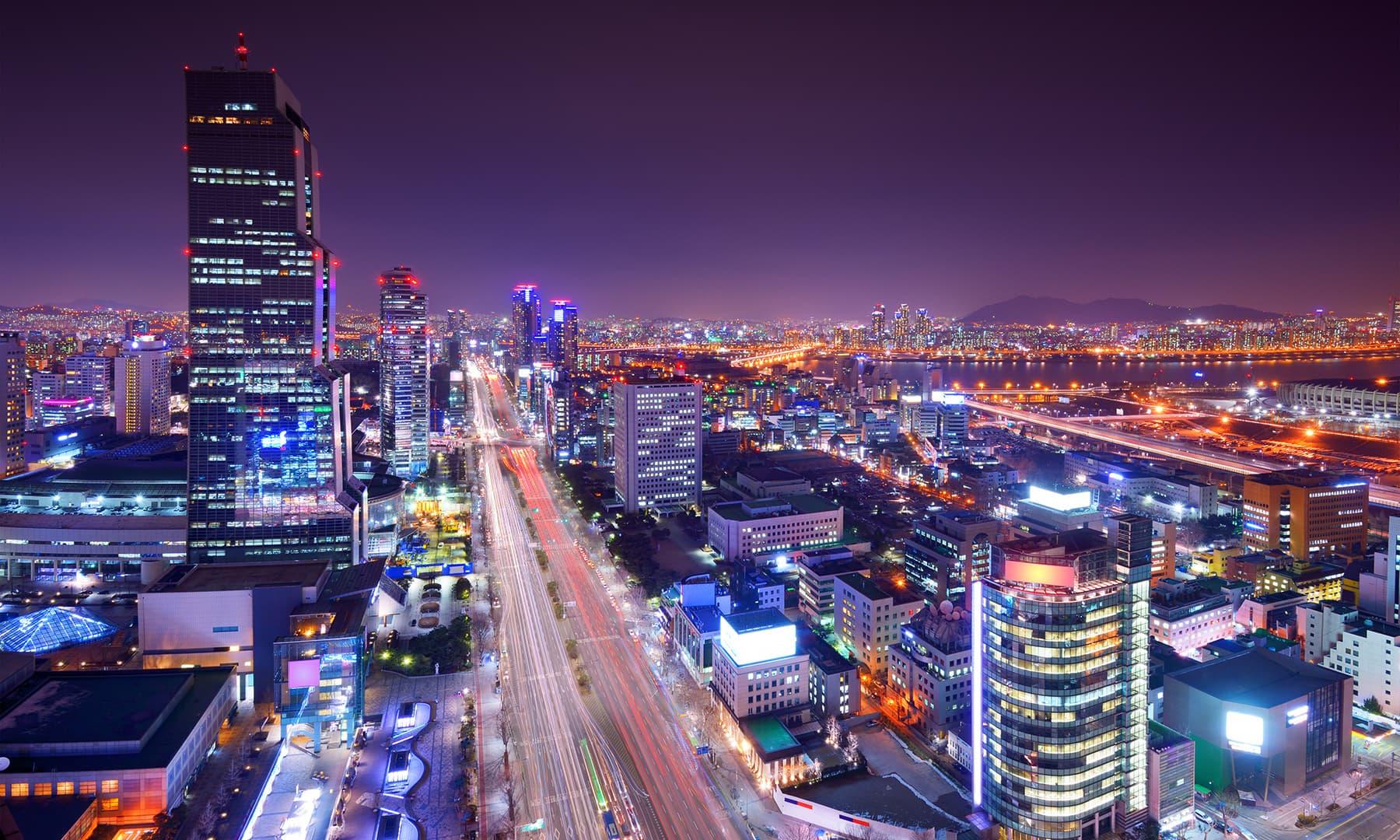 سیؤل، جنوبی کوریا— شٹر اسٹاک