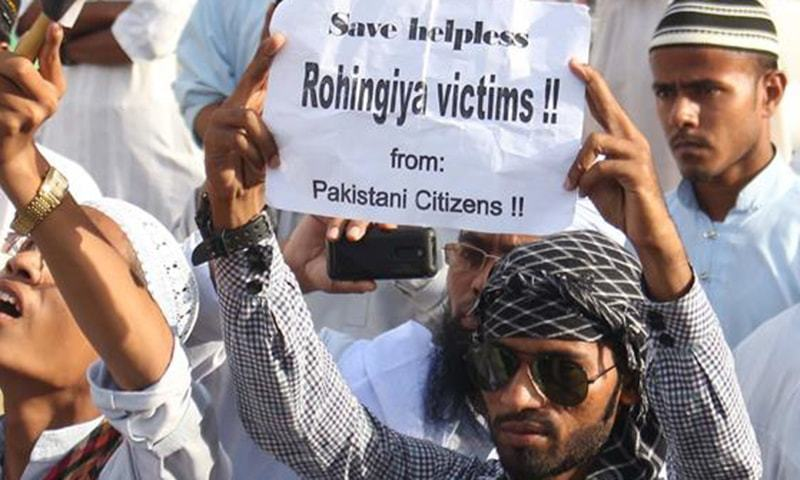 Pakistan urges world to put pressure on Myanmar