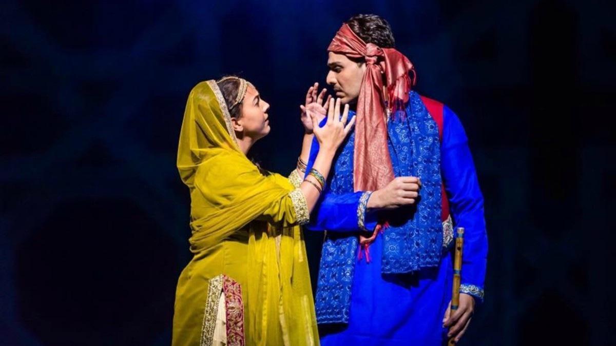 Ahsan Khan and Rachel Viccaji in Ishq