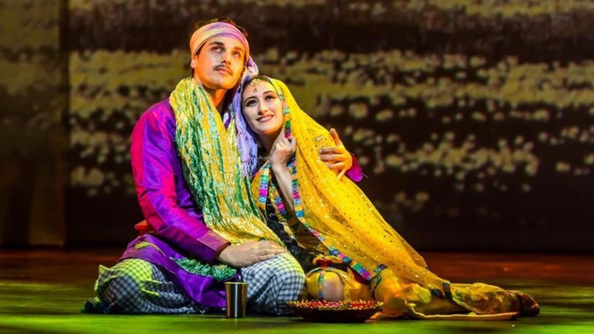 Heer Ranjha is the story of a man and woman from warring villages who fall in love