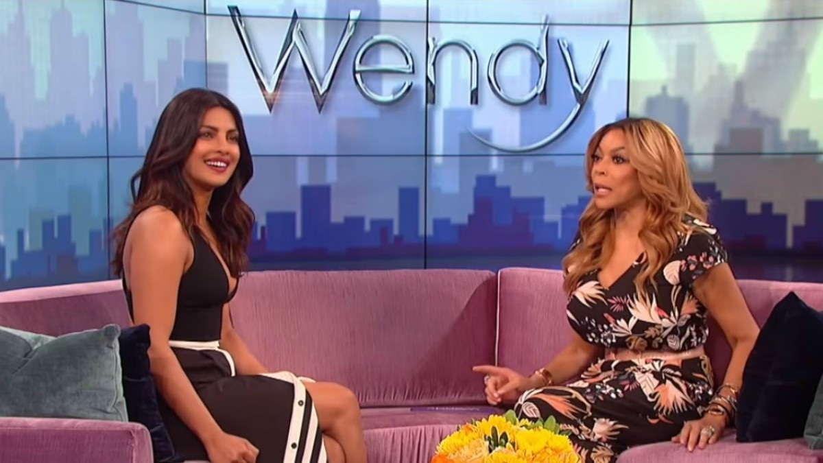 Priyanka on the Wendy Williams Show