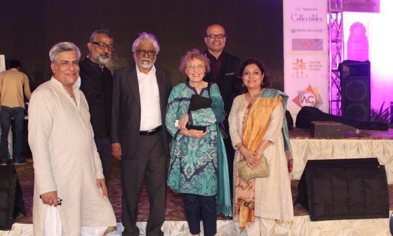The Nigaah Art Awards' jury members.