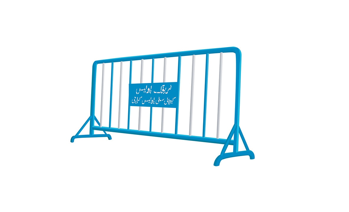 Security Barriers, Type G, 2008, by Bani Abidi | Courtesy Bani Abidi