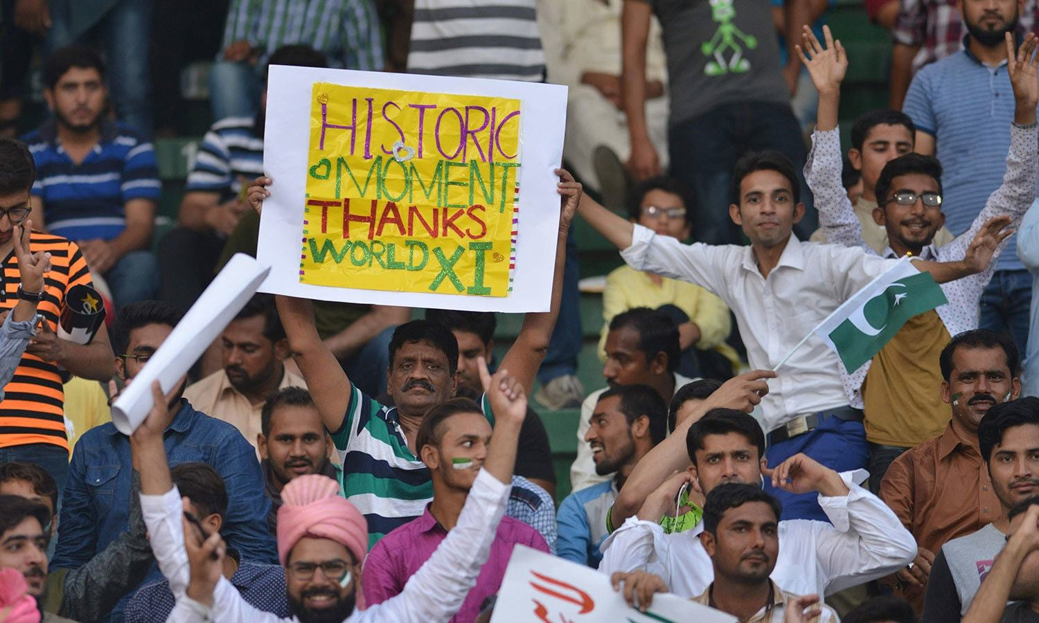 In pictures: Pakistan celebrates revival of international cricket with World XI tour