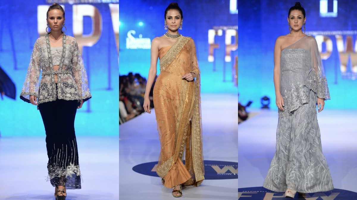 Saira Rizwan had hits and misses in her collection