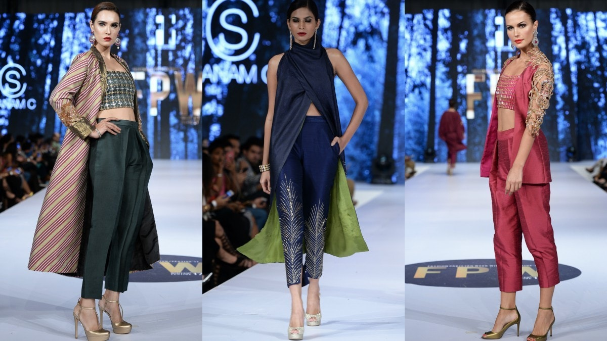 Sanam Chaudhri impressed with unique embroidery and modern silhouettes