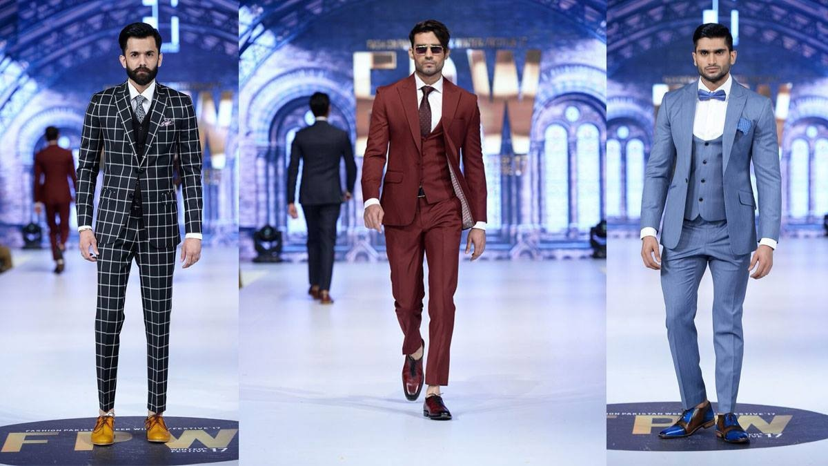 Emraan Rajput chose to play it safe with a range of men's suits in subdued colours