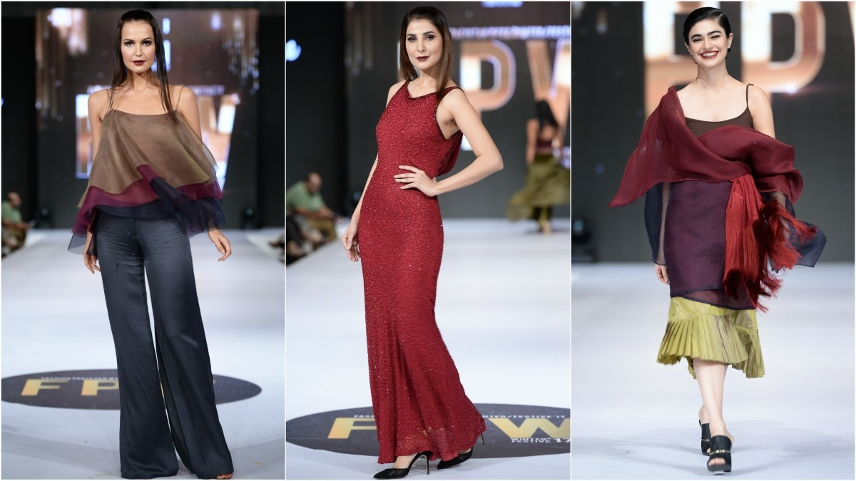 Sadaf Malaterre's much-awaited return to the runway didn't offer anything new