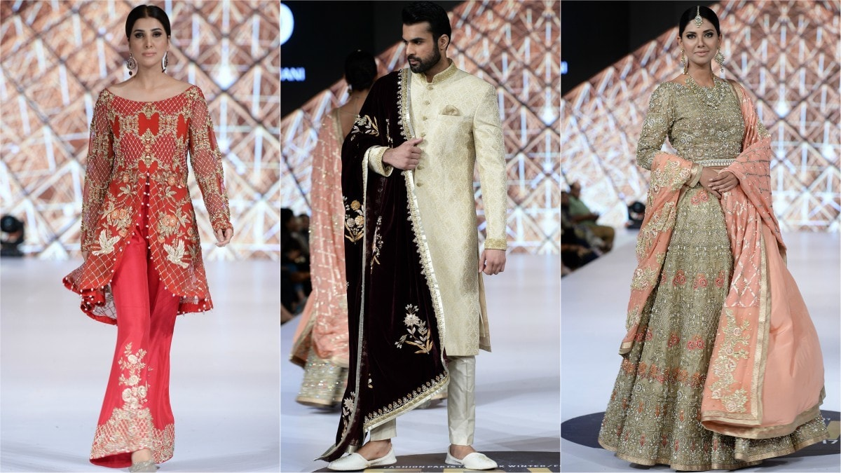 The finale show belonged to Deepak Perwani, who sprinkled 'Gold Dust' over clothes