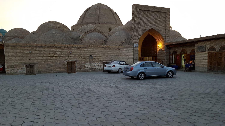 Taki-Sarrafon Bazaar in Bukhara.