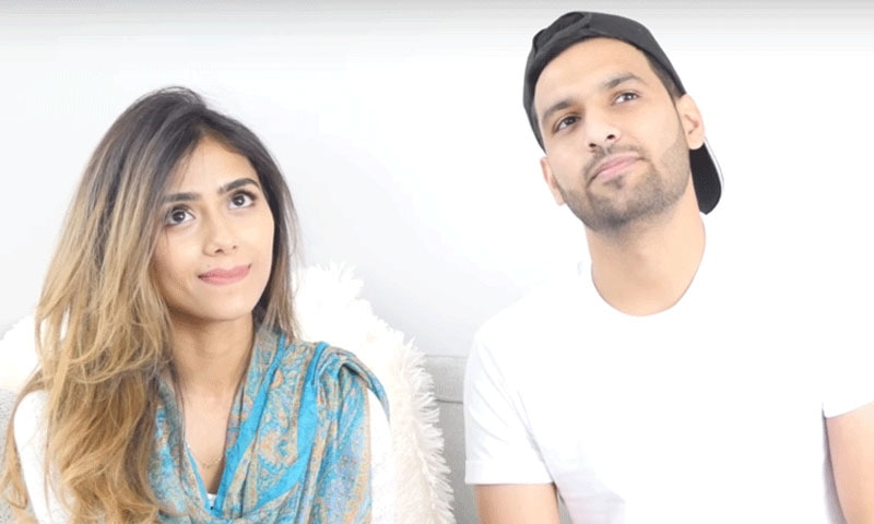 زید علی اور یمنیٰ کی پہلی ویڈیو میں مداحوں کو دلچسپ جوابات