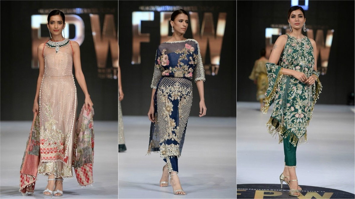 Saira Shakira's colletion was a breath of fresh air on the ramp