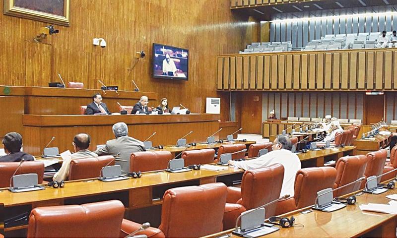 Senators suspicious of military role in Fata's future