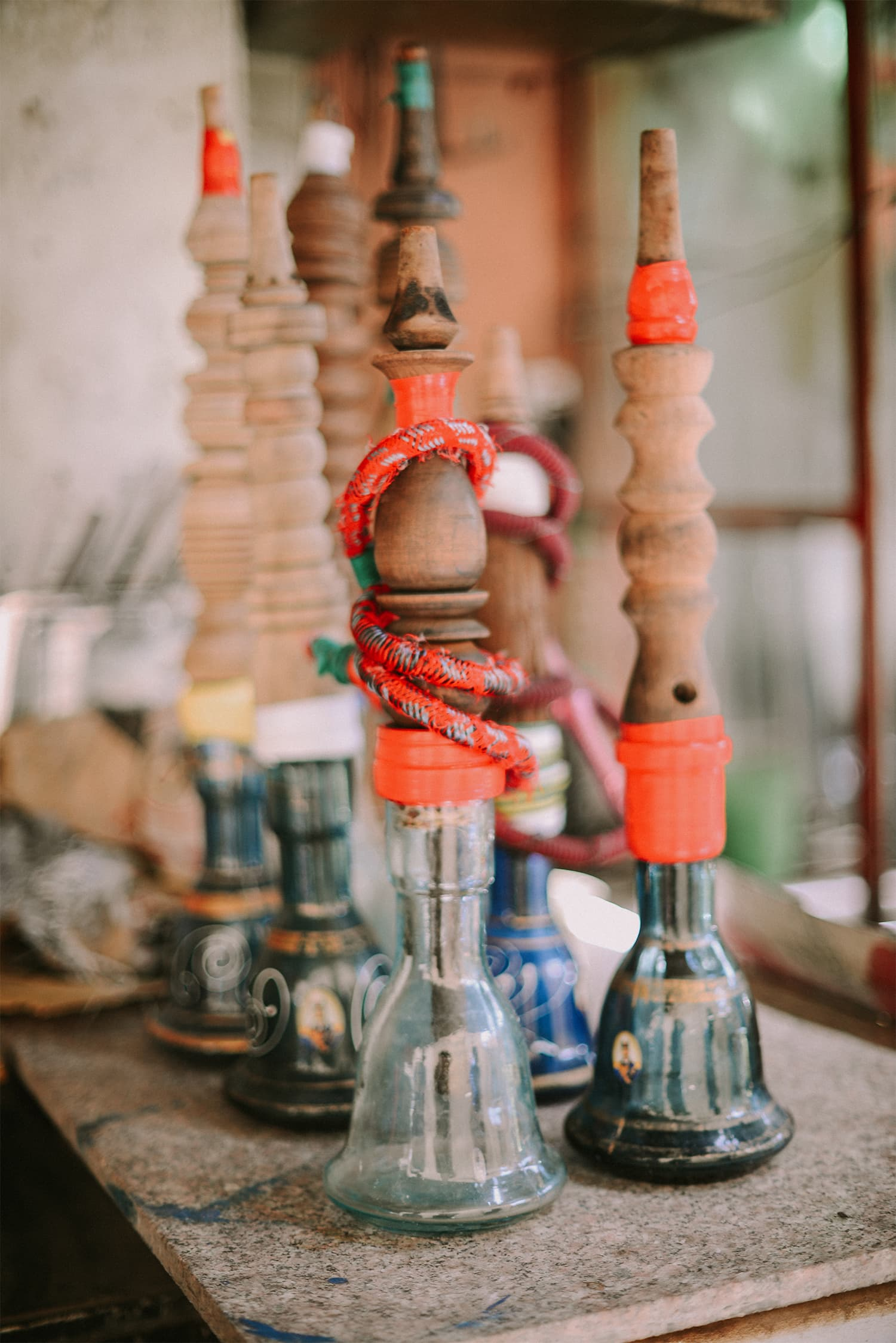 Sheesha joints are very common across cities in Southern Iraq.