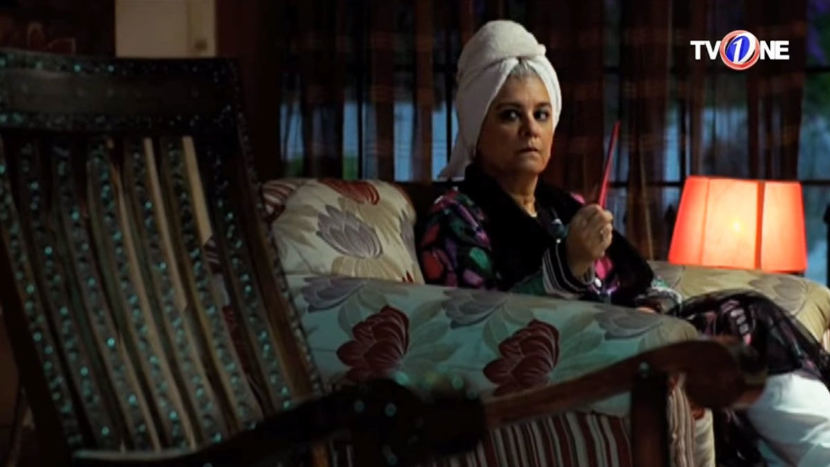 Marina Khan is flawless as the strong, independent woman dealing with a haunted rocking chair.