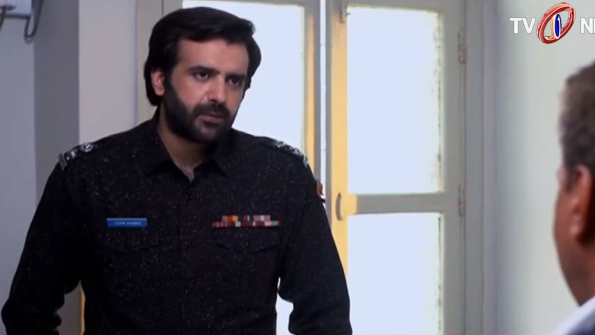 Hassan Ahmed as Inspector Uzair is unimpressive.