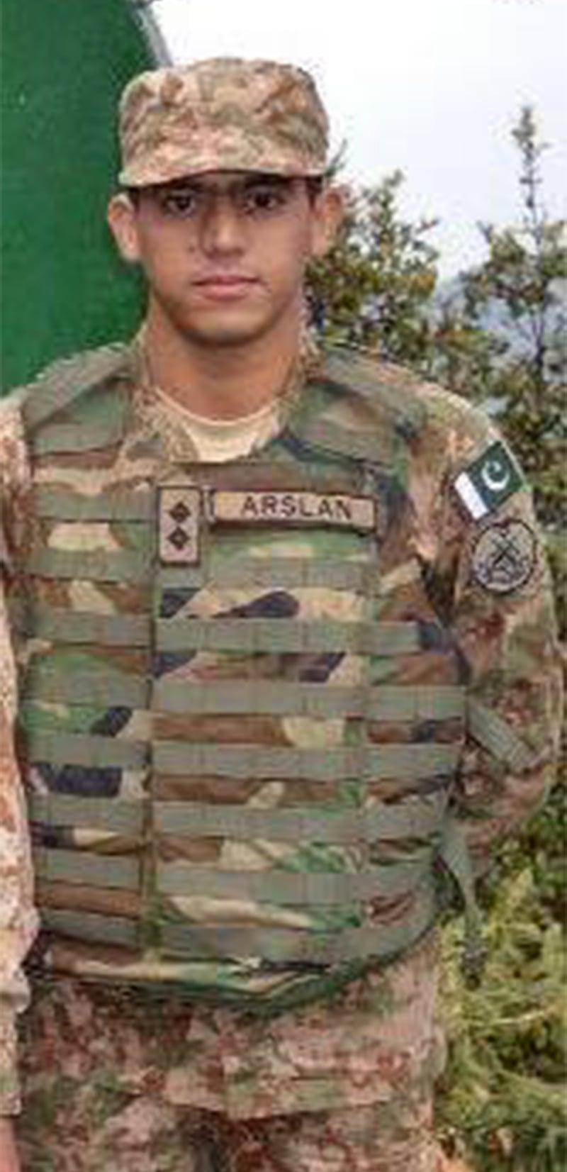 Lieutenant Arsalan Alam.