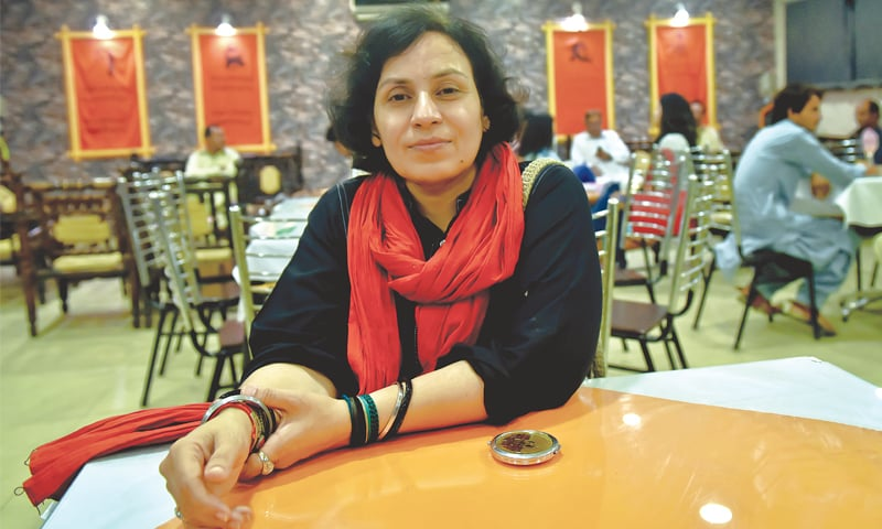 Amar Sindhu: poet, activist, academic and the moving spirit behind the cafe