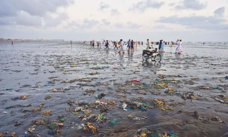 کراچی کے ساحلوں پر آلودگی کی تحقیقات کیلئے ریسرچ کا آغاز