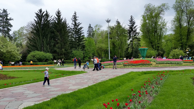 Almaty Park, Kazakhstan.