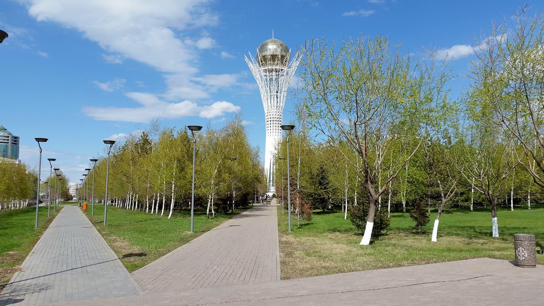 Astana Parkland, Kazakhstan.