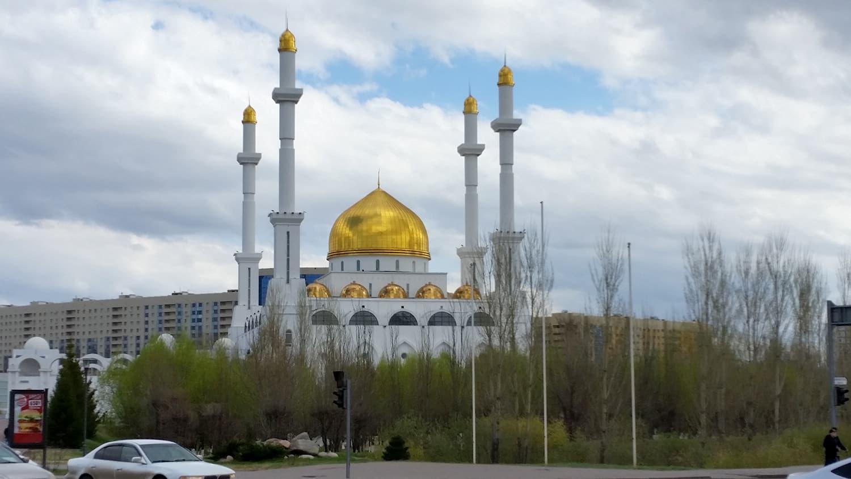 Astana Mosque, Kazakhstan.