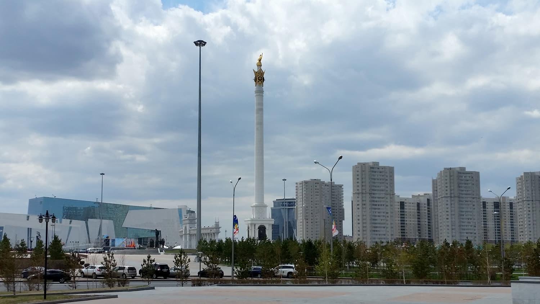 Astana Skyline, Kazakhstan.