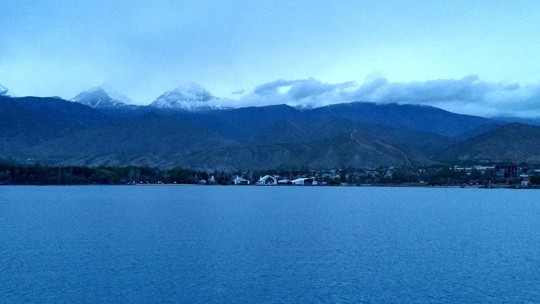 Karakol Lake, Kyrgyzstan.