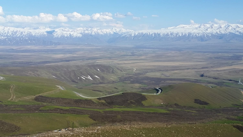 Suusamyr valley, Kyrgyzstan.