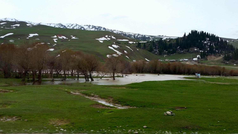 Spring in Kyrgyzstan.