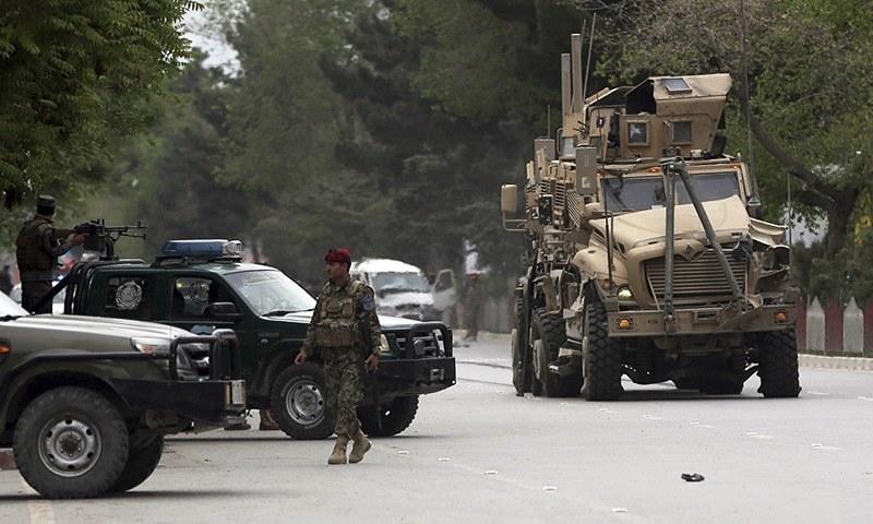 کابل: نیٹو قافلے پر خودکش دھماکا،'3 افغان شہری زخمی'