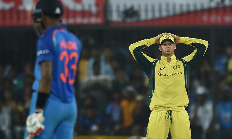 آسٹریلیا کو لگاتار تیسری شکست، بھارت عالمی نمبر ایک بن گیا