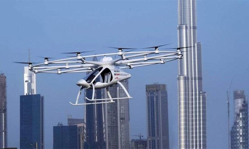 دبئی میں مسافر بردار ڈرون کی پہلی پرواز
