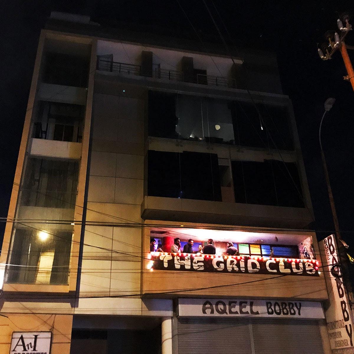 The Grid Club.