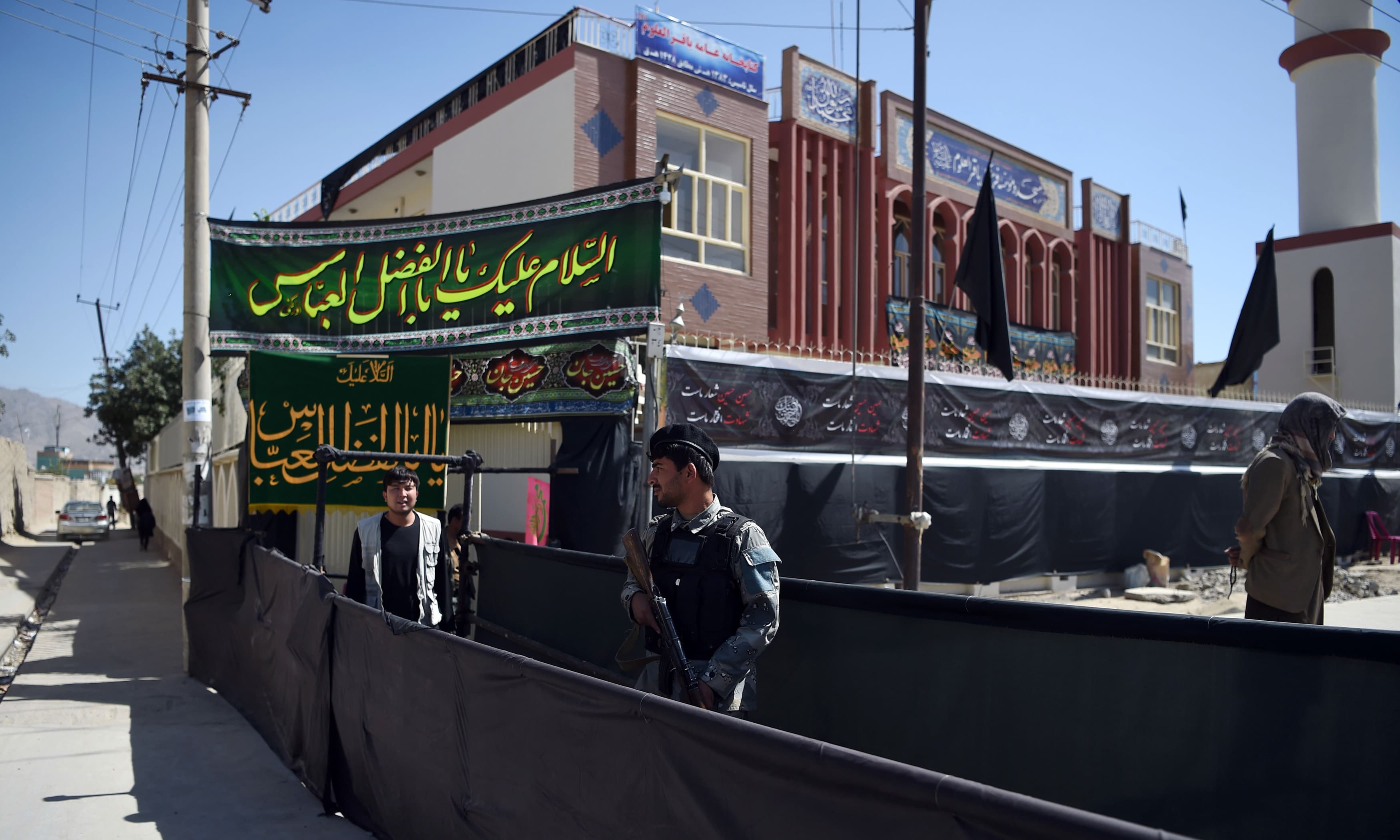 Shias across war-weary Afghanistan are bracing themselves for potential sectarian attacks as they prepare to commemorate Ashura which falls this weekend. —AFP