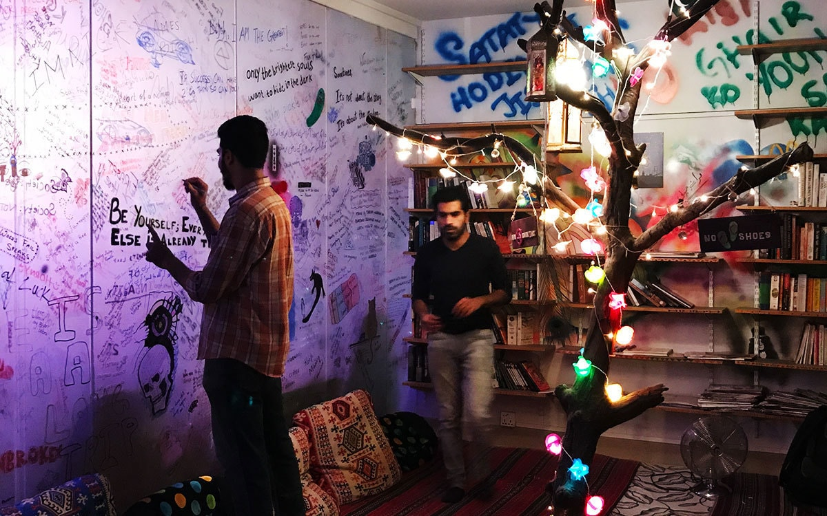 This artist hub in Karachi aims to be a safe haven for