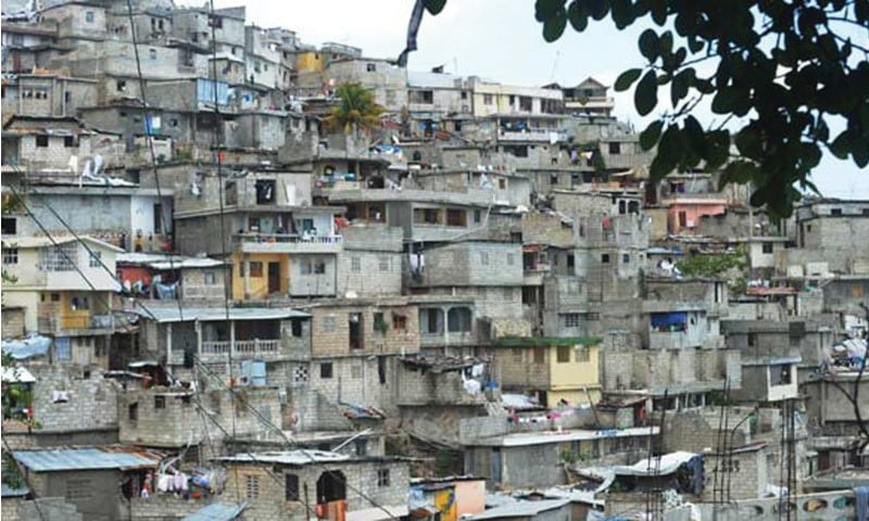 Pakistan faces a shortage of approximately 10 million residential units.— Dawn/File