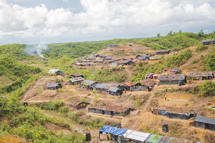 Food aid plan drawn up for Rohingyas