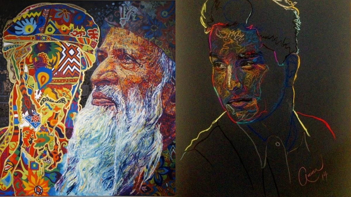 Amina's unusual portraits