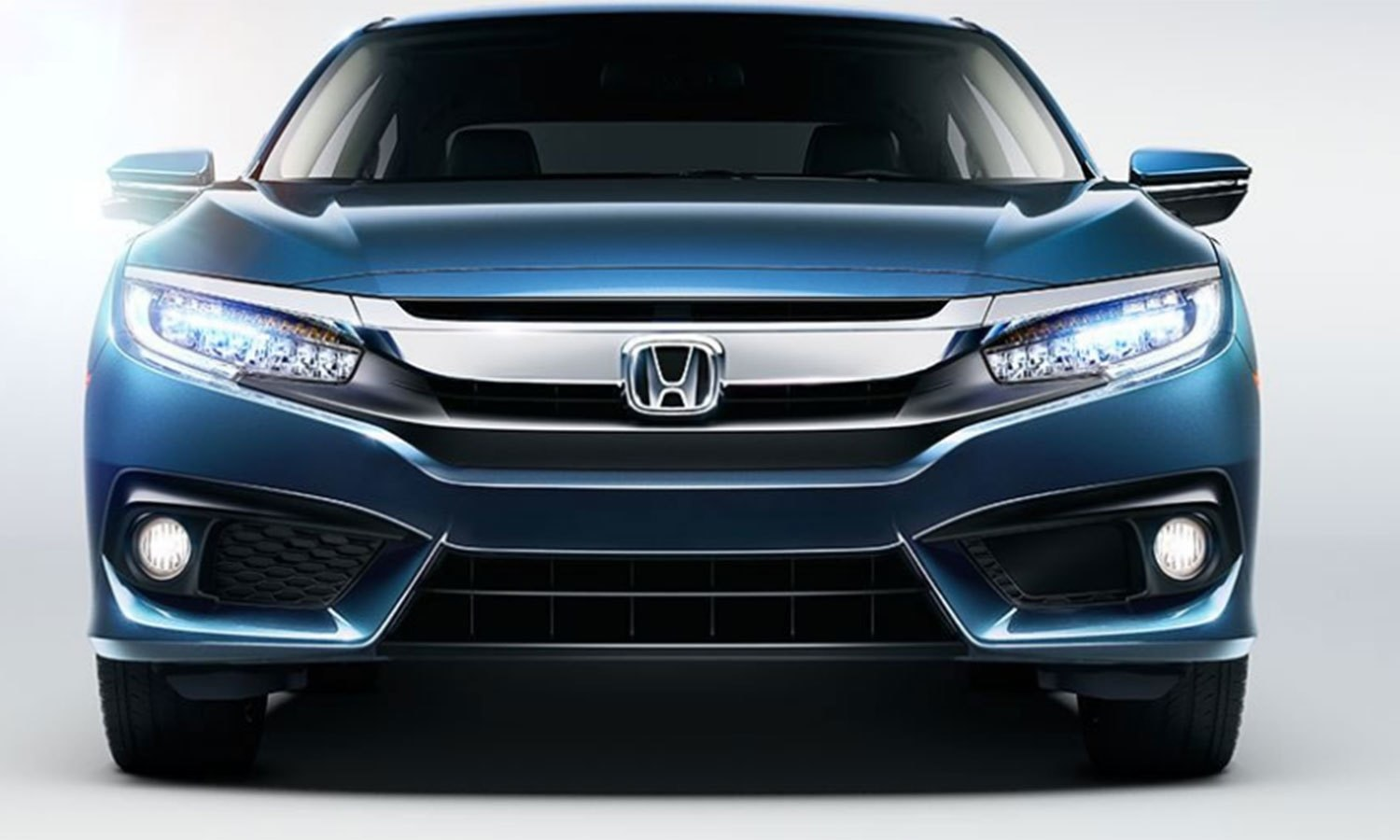 Taking the new Honda Civic for a test drive