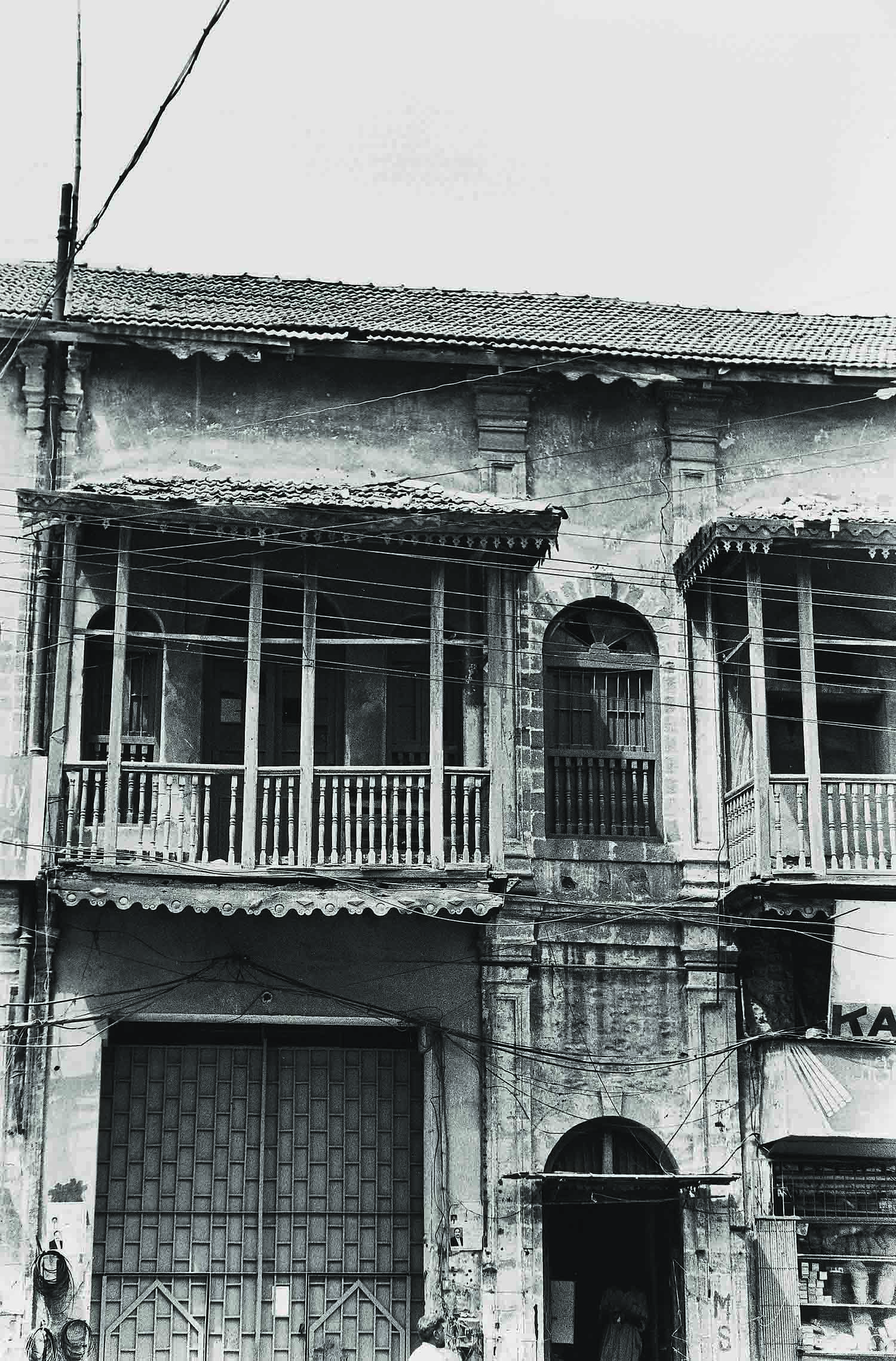 This photograph, taken by Arif Mahmood in 2004, captures Haroon Chambers, the headquarters of Dawn Karachi in the New Challi area when the newspaper was established in August 1947. Dawn was edited and printed there until the offices were moved to Haroon House on Dr Ziauddin Ahmed Road on October 27, 1968.