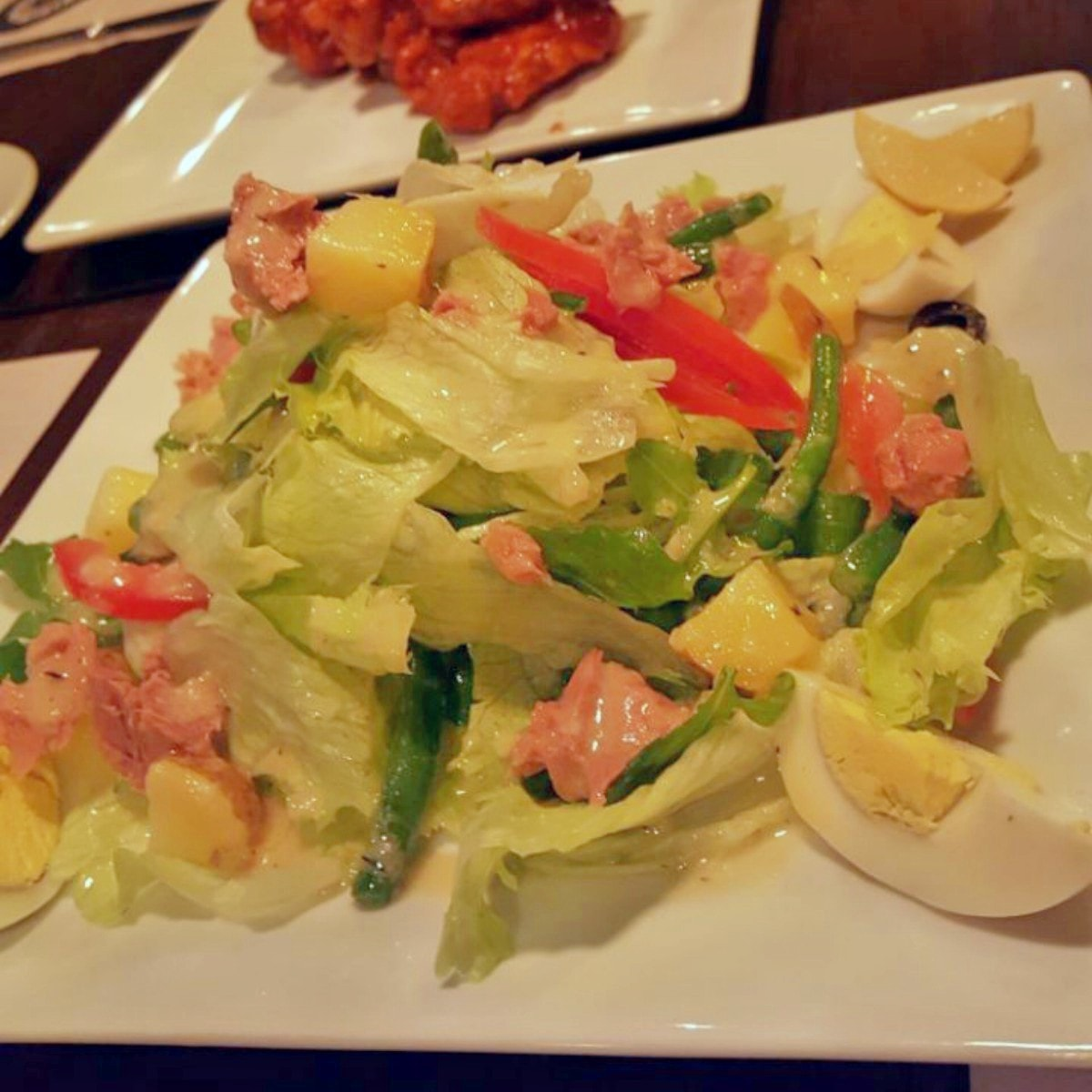 The Salad Nicoise is for the health conscious