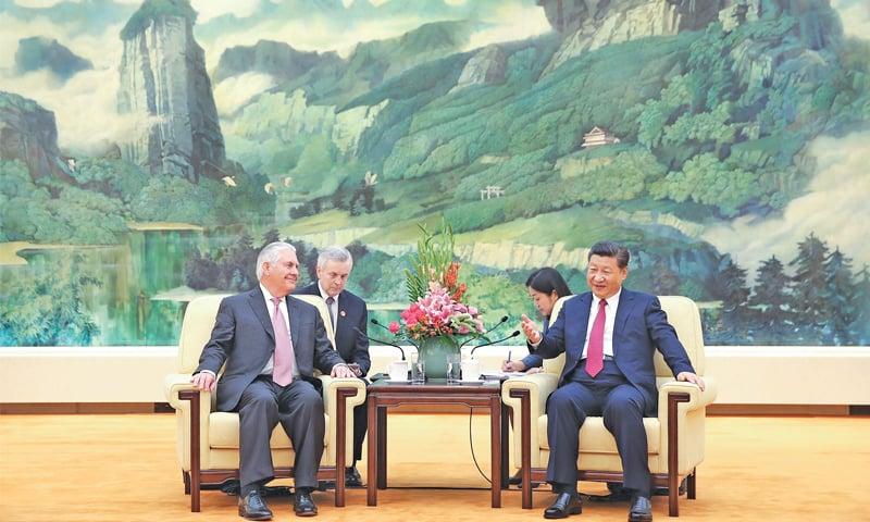 US probing North Korea's willingness to talk: Tillerson