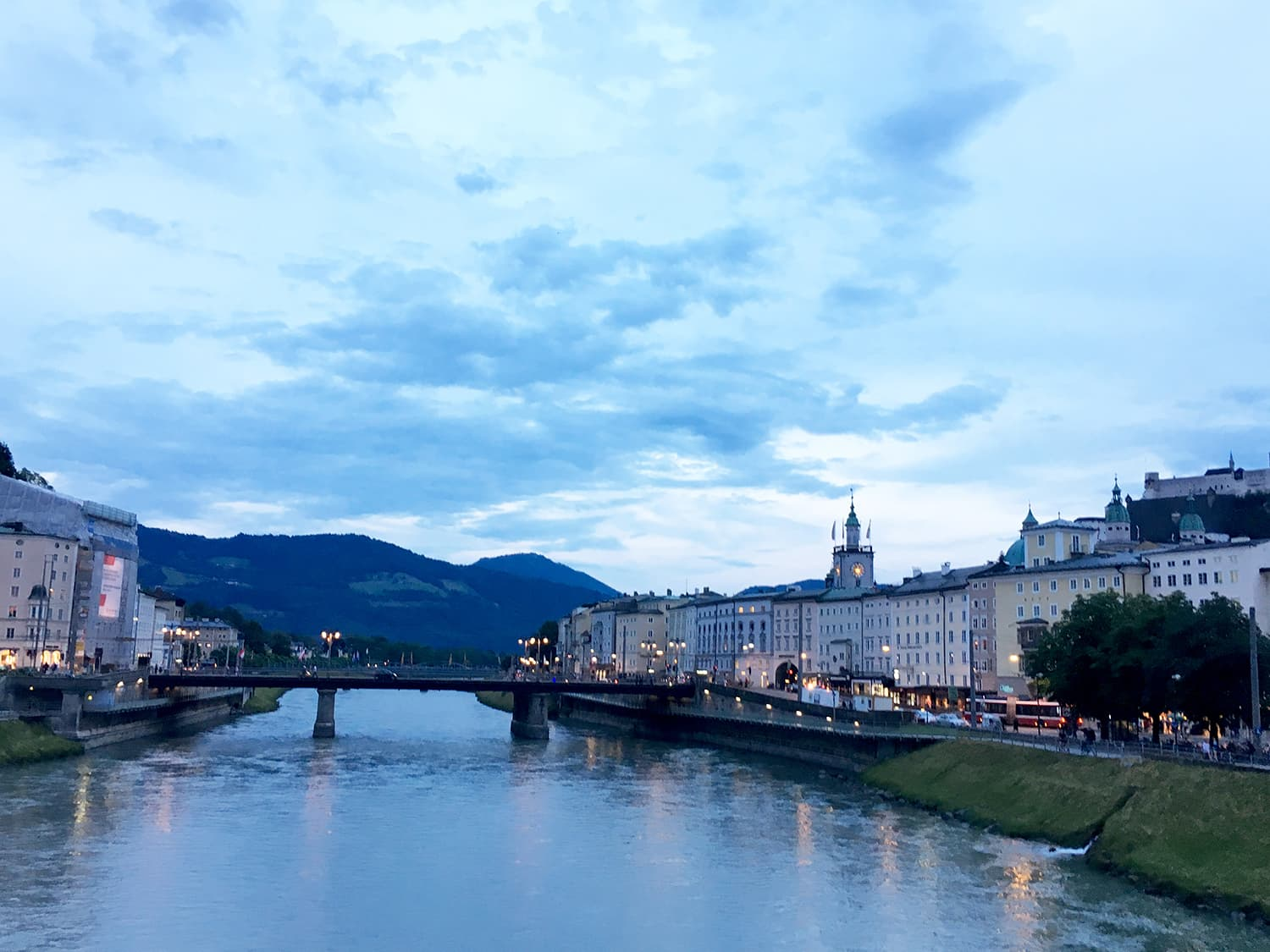 Discovering the gorgeous river town, Salzburg.