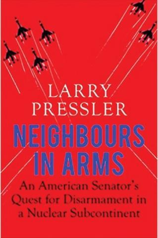 امریکی سینیٹر لاری پریسلر کی کتاب کا سرورق—۔
