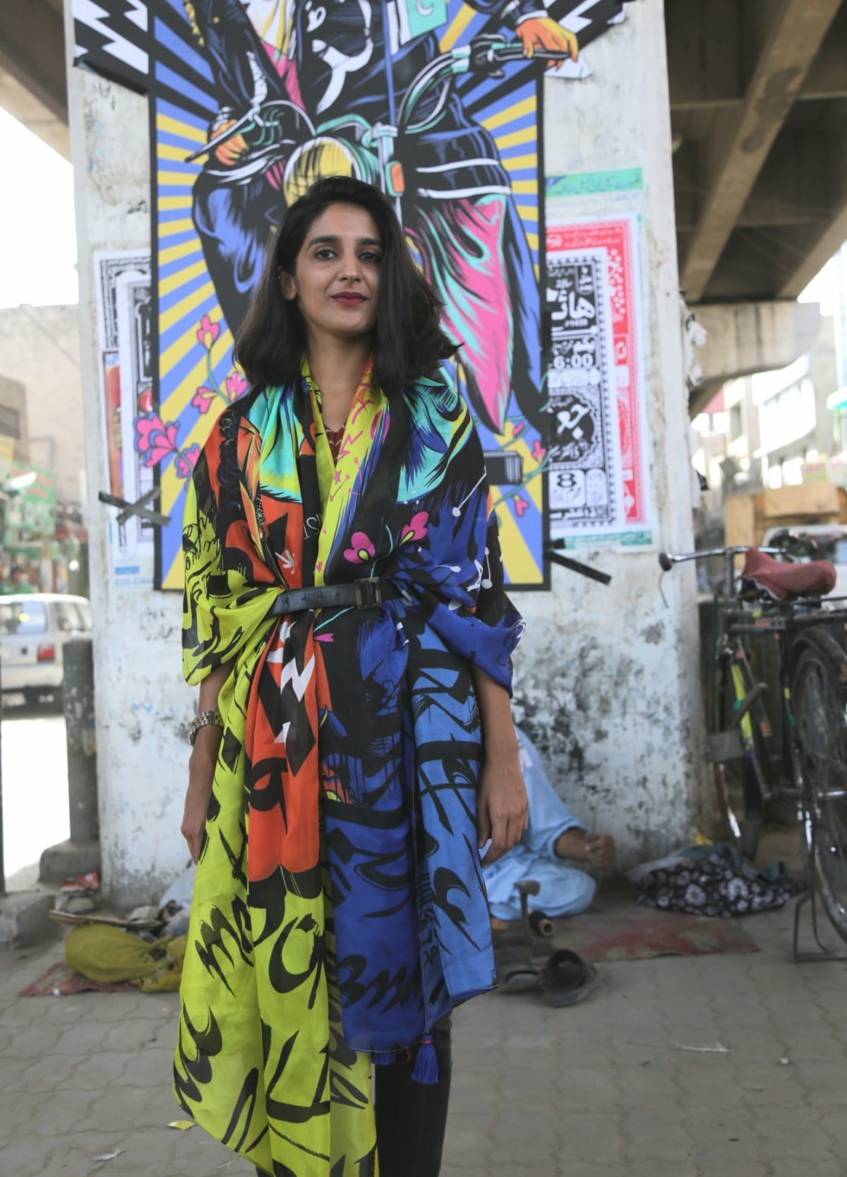 """I really believe in the messages within the clothes. Women need to be fearless, have dreams and be supportive of each other,"" says Shehzil (pictured here)"