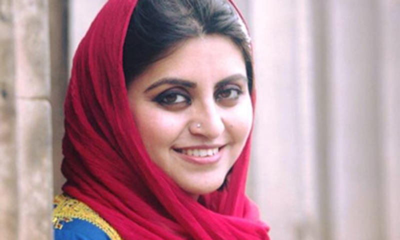 Gulalai Ismail. ─ Photo courtesy RAW in War