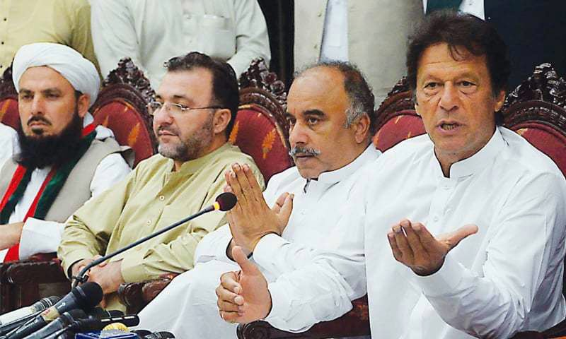 KP will ask army to withdraw troops, says Imran Khan