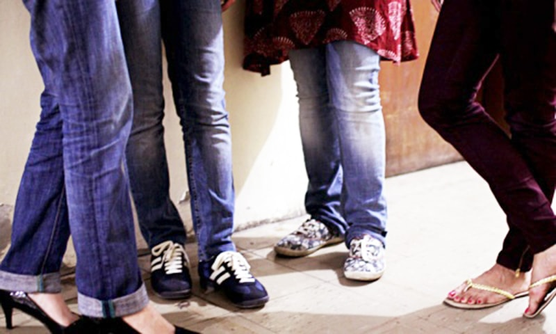 Jeans, tights and social control
