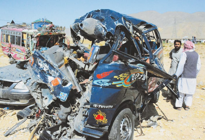 15 killed in accident on Quetta-Sibi highway